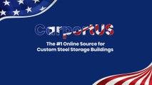 CARPORTUS - Provider of Perfect Storage Buildings