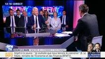 """""""Ce qui compte ce n'est pas la manière dont on prélève l'impôt, c'est le montant des impôts"""", Bruno Le Maire"""