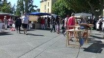 Alpes de Haute-Provence : Au fourneau pour la fête du pain de Château-Arnoux Saint-Auban