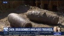 Deux bombes anglaises de la seconde guerre mondiale trouvées à Caen