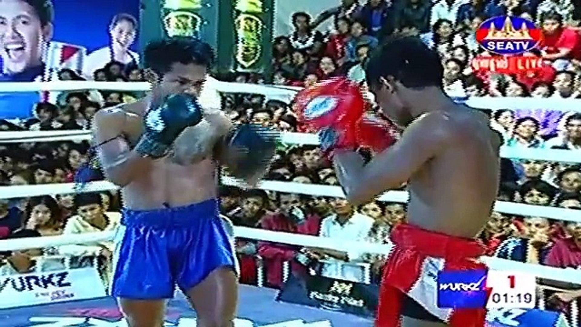 Kham Klarneang, Cambodia Vs Kievba, Thailand, 2 September 2018, International Boxing, Khmer Boxing