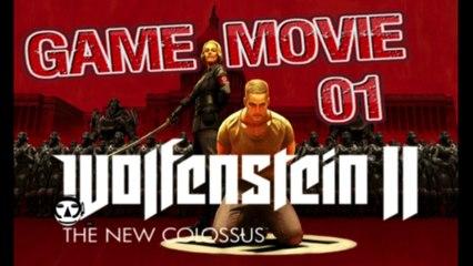 WOLFENSTEIN 2: The New Colossus - Game Movie Deutsch - Part 01