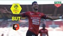 But Ramy BENSEBAINI (16ème) / Stade Rennais FC - Girondins de Bordeaux - (2-0) - (SRFC-GdB) / 2018-19