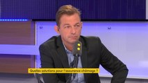 """Assurance chômage : """"Ce n'est plus une assurance (…) C'est l'occasion de tout remettre à plat"""", explique Geoffroy Roux de Bézieux président du Medef"""