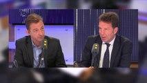 """""""Pour une fois je suis d'accord avec Jean-Luc Mélenchon : l'employeur n'a pas à connaître les revenus du foyer fiscal de son employé"""" selon Geoffroy Roux de Bézieux, président du Medef"""