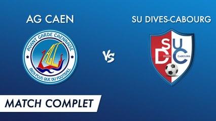 R1 J1 - AG Caen vs SU Dives-Cabourg