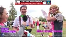 Cours de dégustation au Marathon du Médoc / Tasting Wine Lessons