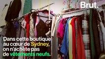 """En Australie, une boutique de prêt de vêtements pour dire stop à la """"fast fashion"""""""