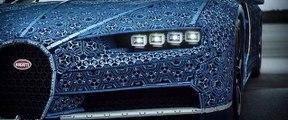 Une Bugatti Chiron en taille réelle avec des LEGO