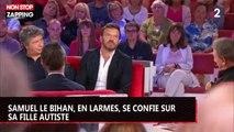 Samuel Le Bihan en larmes chez Drucker, il parle de sa fille autiste (vidéo)