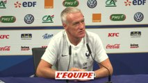 Deschamps «Aréola est en constante progression » - Foot - Ligue des nations - Bleus