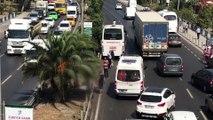 Minibüsün çarptığı motosiklet sürücüsü öldü - İZMİR