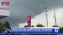 Les États-Unis frappés par de violents orages et des tornades (vidéo)