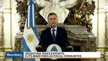 Argentina Taxes Exports, to Balance Budget as Crisis Bites