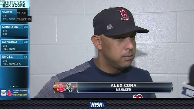Alex Cora Shares Positive Takeaway From Sunday's Loss