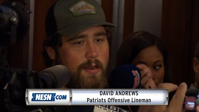 David Andrews Advice For Rookies