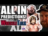 ALL IN WRESTLING 2018 PREDICTIONS!