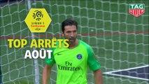 Top arrêts Ligue 1 Conforama - Août (saison 2018/2019)