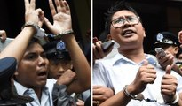 Myanmar journalists get seven years over state secrets leak