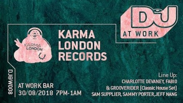 Fabio and Grooverider (Classic House Set) Live from DJ Mag at Work x Karma London Records