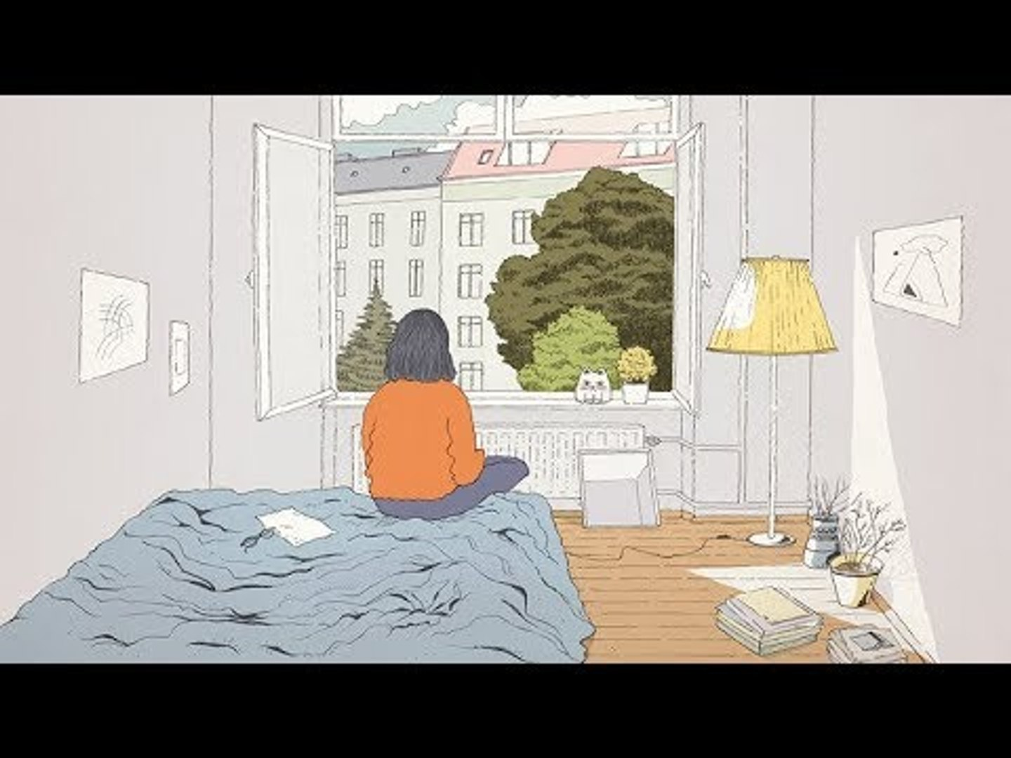 staying in  [lofi / jazzhop / chill mix]