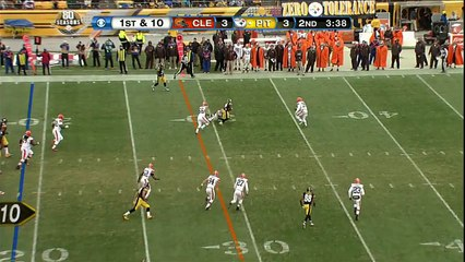 NFL 2012-13 W17 Pittsburgh Steelers vs Cleveland Browns