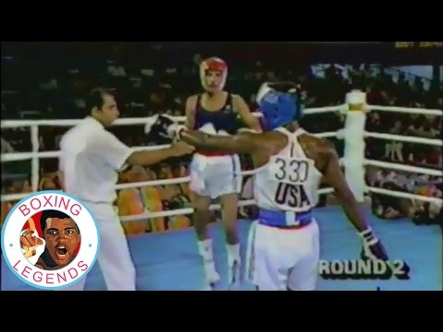 Pernell Whitaker vs Luis Ortiz (1984 Olympics Final)