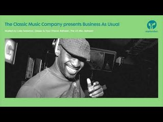 Business As Usual September 2018: Luke Solomon + Special Guest Rahaan