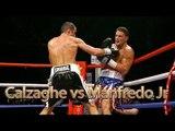 Joe Calzaghe vs Peter Manfredo Jr (Highlights)