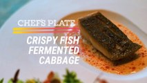 Crispy Fish With Fermented Cabbage Dish (Chef's Plate Ep. 1)