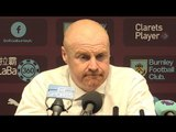 Sean Dyche Full Pre-Match Press Conference - Burnley v Manchester United - Premier League