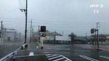 Le Japon touché par un typhon, le plus violent enregistré en 25 ans