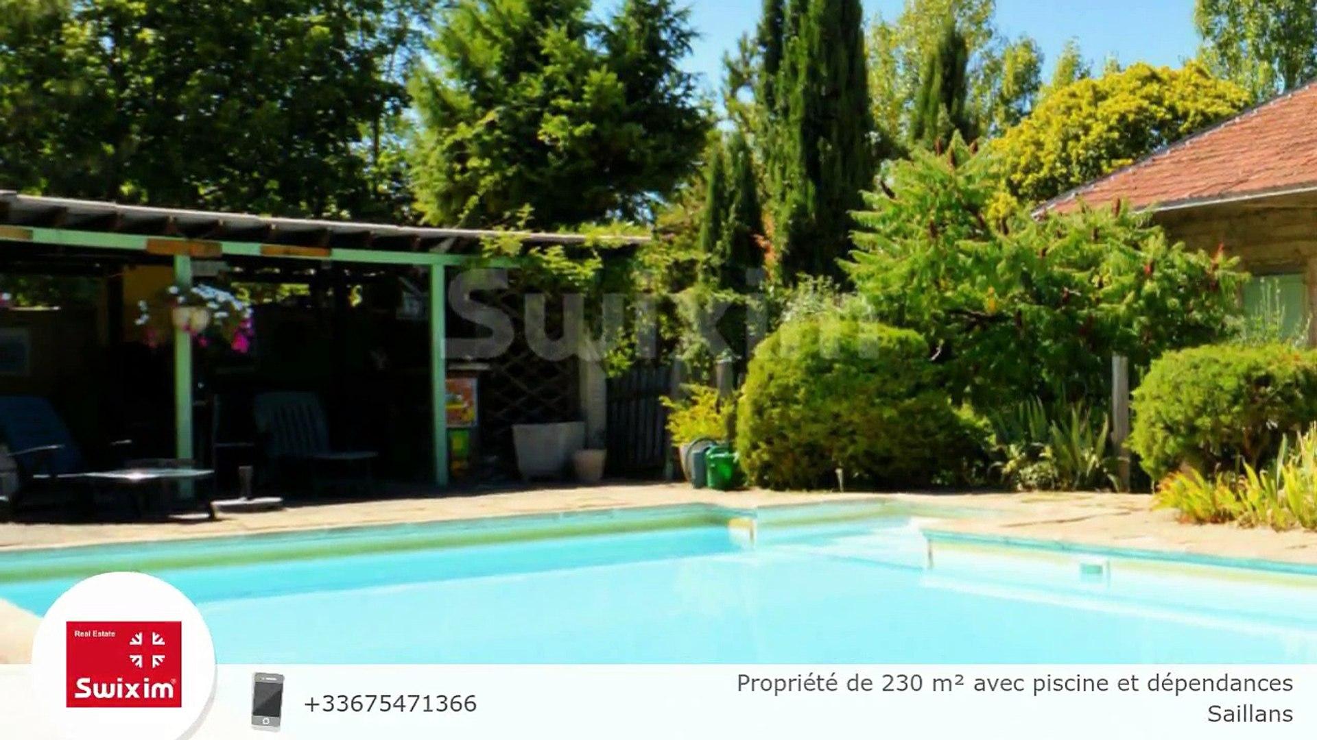 Propriété de 230 m² avec piscine et dépendances