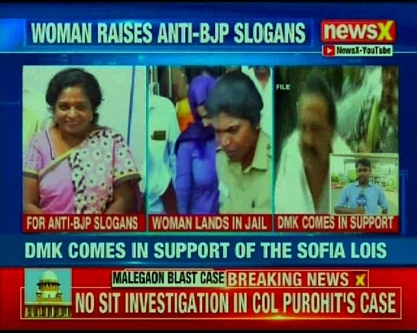 Lois Sofia gets a bail after she shouted anti-BJP slogan on board a flight