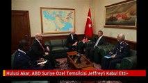 Hulusi Akar, ABD Suriye Özel Temsilcisi Jeffrey'i Kabul Etti-