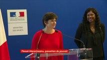 """""""Tu es un exemple remarquable pour nous tous et pour moi en particulier. Tu es et tu resteras la ministre qui a ramené les Jeux d'été en France"""", dit Roxana Maracineanu à Laura Flessel lors de la passation de pouvoirs. https://bit.ly/2CiLDDs"""
