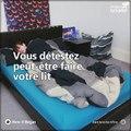 Attention ! Faire son lit peut être dangereux pour la santé