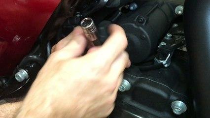 Harley-Davidson Road Glide Special Transmission Fluid Check Procedure