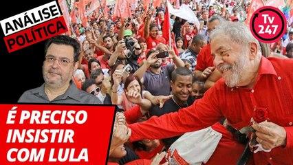 Análise Política com Rui Costa Pimenta - É preciso insistir com Lula (6)