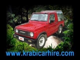 Krabi car, your friendly Krabi car hire