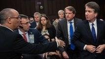 Brett Kavanaugh Snubs Parkland Victim's Father's Handshake Attempt At Hearing