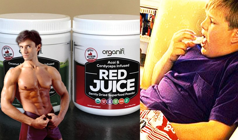 ORGANIFI RED & GREEN JUICE REVIEW & BACK TO SCHOOL FITNESS   Fit Now with Basedow