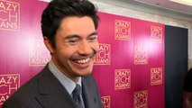 Henry Golding watches pimples in spare time!