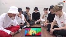 [ENG] [BANGTAN BOMB] BTS 'IDOL' MV reaction (방탄소년단)