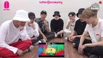 [ENG] [BANGTAN BOMB] BTS 'IDOL' MV reaction - BTS (방탄소년단)