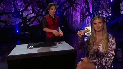 Shin Lim- Magician Bends Reality With Incredible Smoke Card Tricks - America's Got Talent 2018