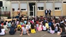Mâcon : rentrée en musique à l'école Georges Brassens