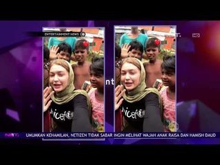 Model Cantik Gigi Hadid & Unicef Salurkan Bantuan Korban Konflik Rohingya