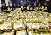 Drugs worth about RM100mil seized, two men detained in five raids in Penang