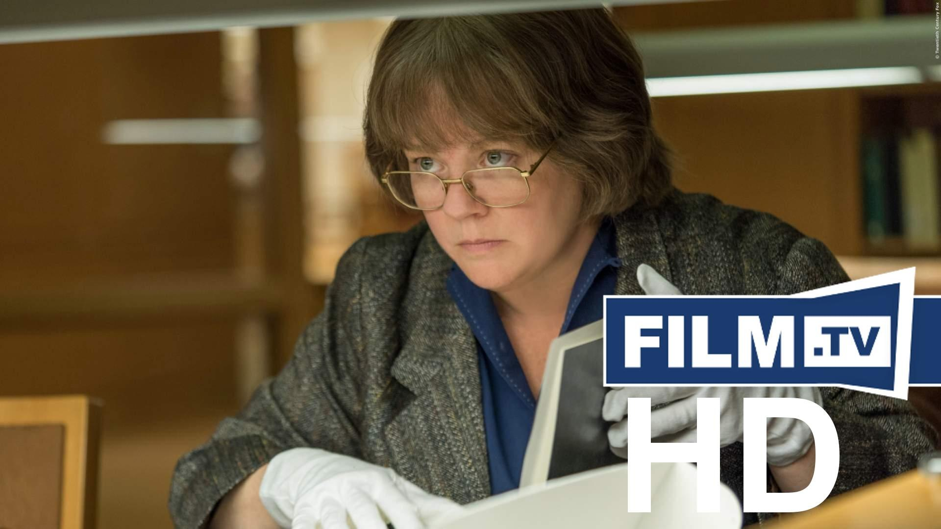 Can You Ever Forgive Me - Trailer Trailer Deutsch German (2018)
